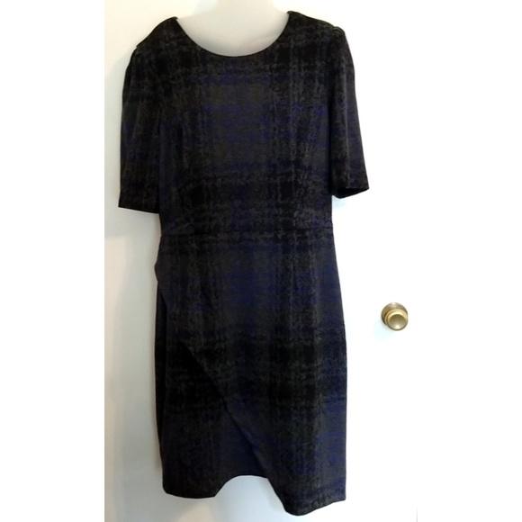 Betsey Johnson Dresses & Skirts - Betsey Johnson Blue Heavyweight Winter Dress sz 14